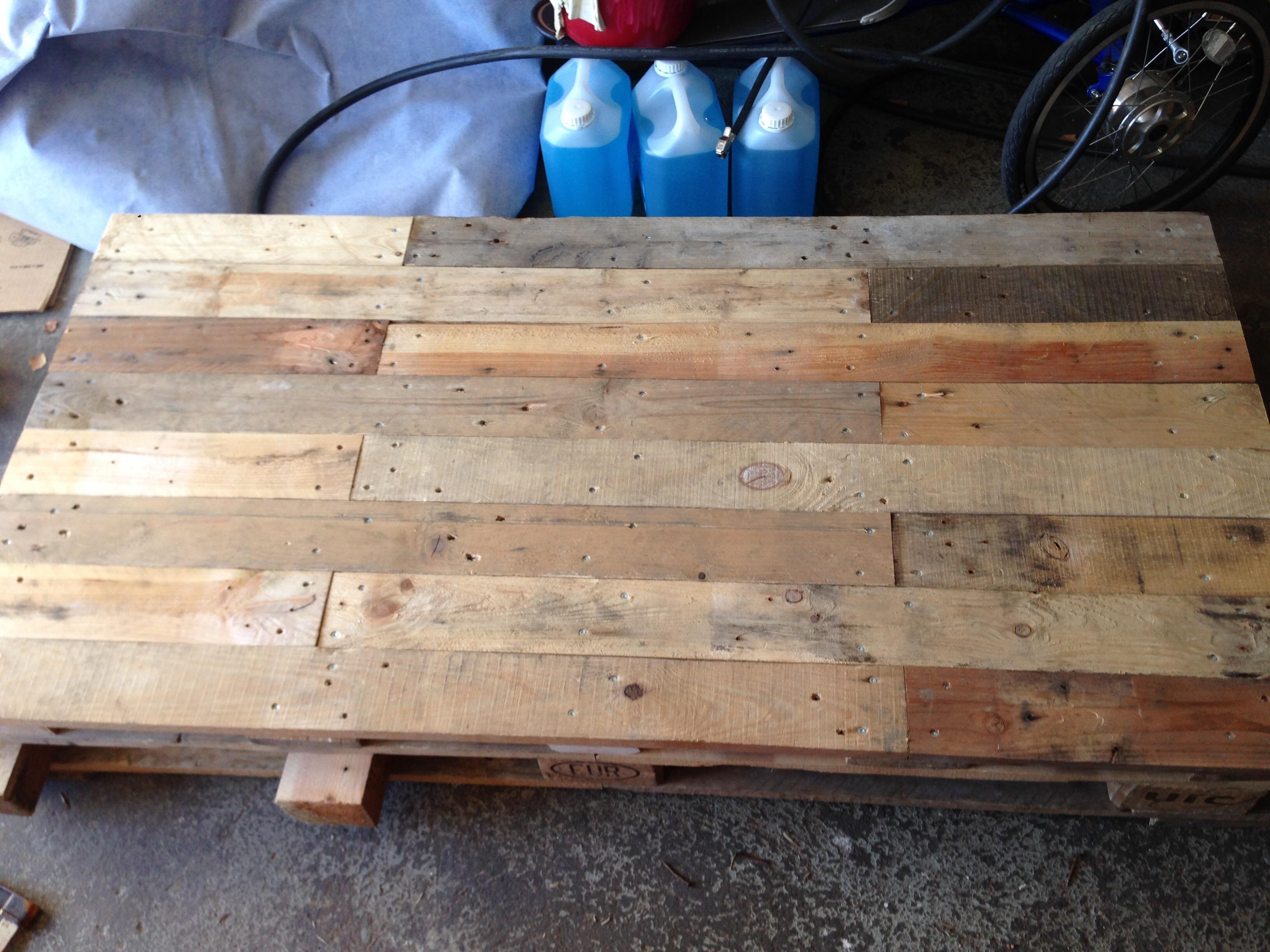 Skrivbord av lastpall