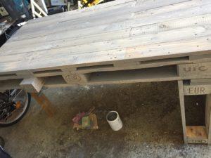 Skrivbord av lastpall uppdatering #2